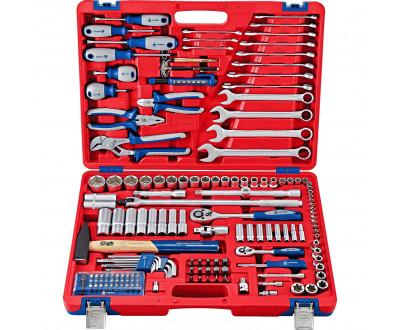 Набор инструментов универсальный, 155 предметов МАСТАК 01-155C