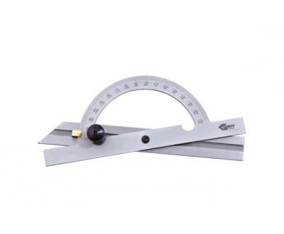 """Угломер-транспортир 0-180°, d=100мм, L=150мм """"GRIFF"""""""