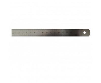 Линейка металлическая измерительная 150 мм Гост Стиз