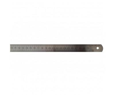 Линейка металлическая измерительная 300 мм калибровка Стиз