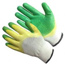 Перчатки х/б двойной облив Латекс