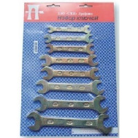 Набор ключей комбинированных в блистере Арефино
